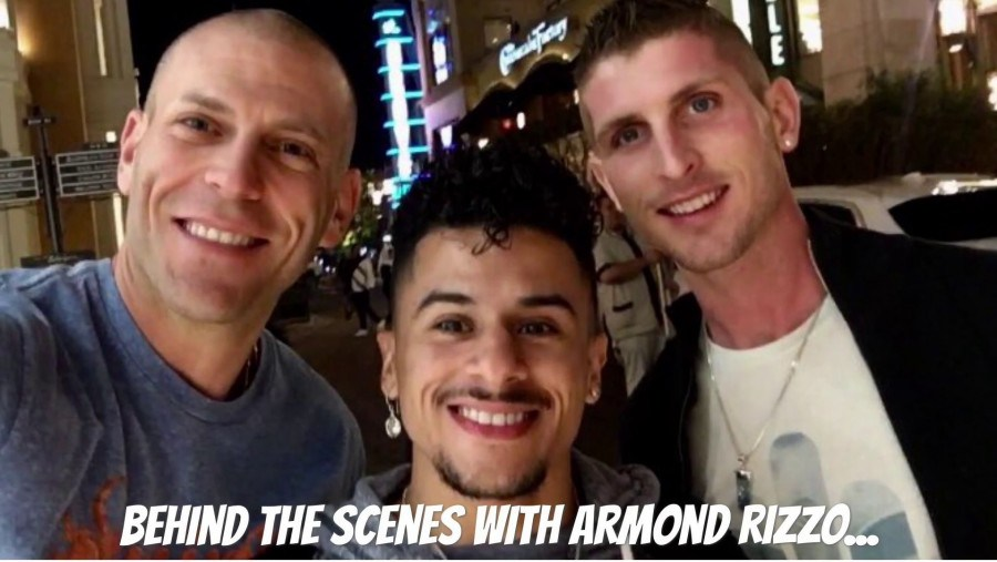 Behind The Scenes - Our Epic 3-Way with Armond Rizzo