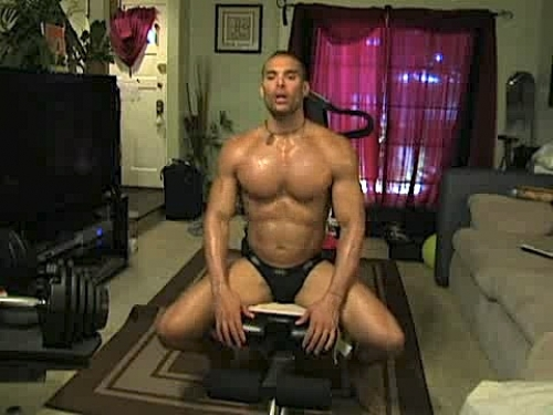 Marcus Patrick Thong Workout Part 2